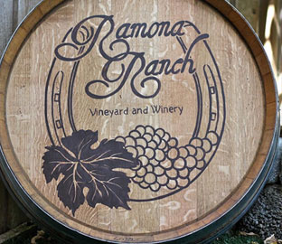 Ramona Ranch barrel logo