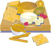 Cheeses-Crackers-and-Fruit