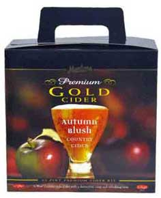 Muntons cider autumn blush kit