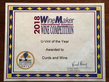Curds and Wine UVint of 2018