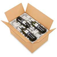 6 bottle shipper box