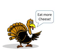 Cheesey Turkey