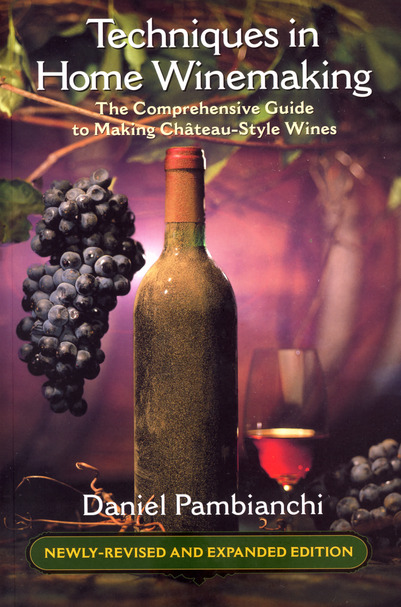 Techniques in Home Winemaking Book Cover 2